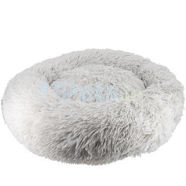 Calming Pet Bed - Light Grey