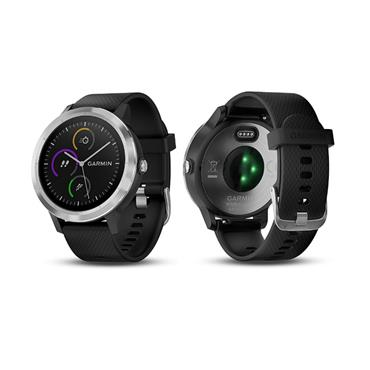 Garmin Vivoactive 3 | Black with Stainless Hardware
