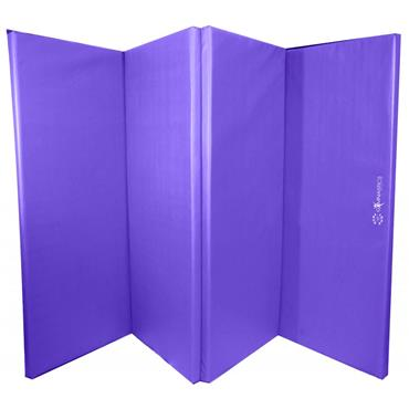 Sure Shot Foldable Gymnastics Mat (Purple) | 50mm