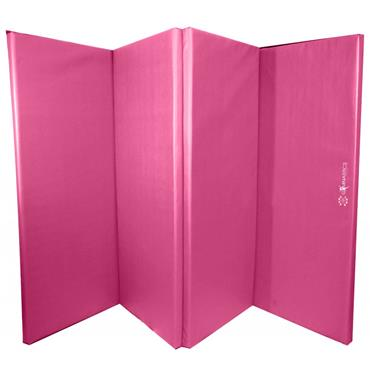 Sure Shot Foldable Gymnastics Mat (Pink) | 60mm