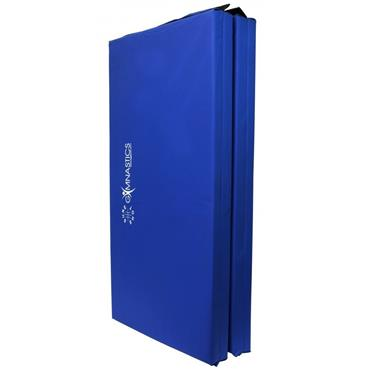Sure Shot Foldable Gymnastics Mat (Blue) | 60mm