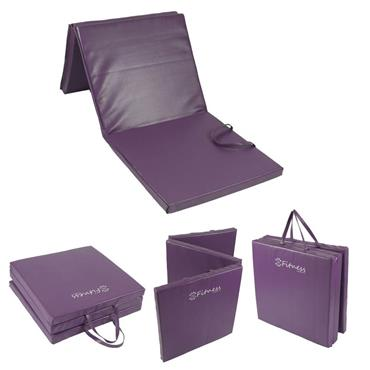 Fitness Tri-Fold Mat | Purple 6' x 2' x 50MM