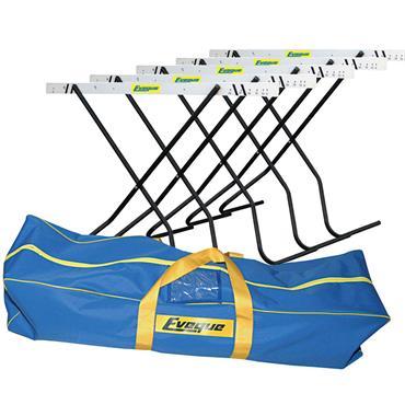 Eveque Scissor Hurdles (5Pk & Bag)