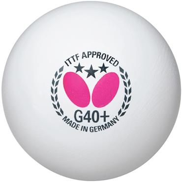 Butterfly G40+ Table Tennis Balls
