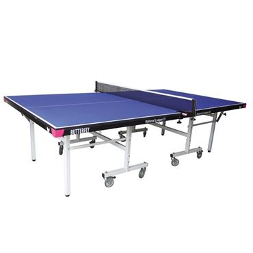 Butterfly National League 22 Rollaway Indoor Table Tennis Table | Blue