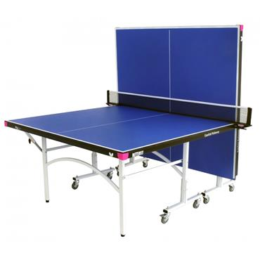 9ft Easifold Rollaway Table Tennis Table | Blue