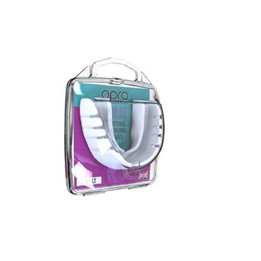 Opro Mouth Guard Snap-Fit Adult White