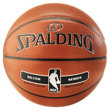 Spalding NBA Silver Indoor/Outdoor Basketball | Size 7