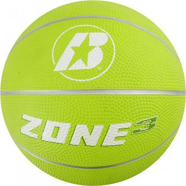 Baden Zone Rubber Coloured Basketballs (Green) | Size 3