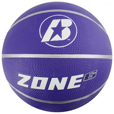 Baden Zone Rubber Coloured Basketballs (Purple) | Size 6