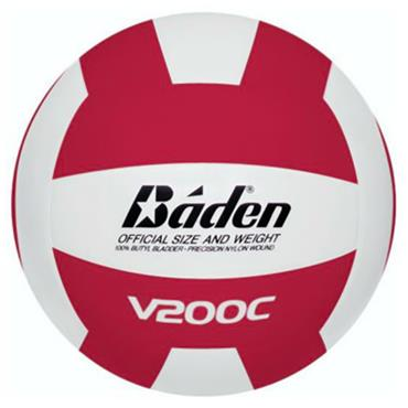 Baden V200 10 Volleyball Pack with Twine Carry Bag