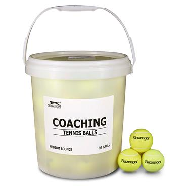 Slazenger Value Tennis Ball Bucket - 60 Pack