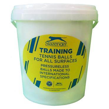 Slazenger Training Tennis Ball Practice Bucket - Pack of 60