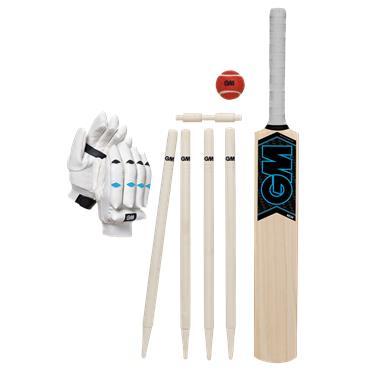 Gunn & Moore Neon Cricket Set (Size 4)