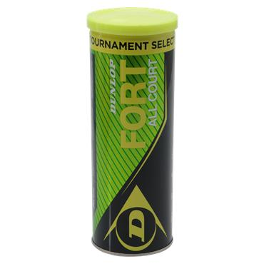 Dunlop Fort TS Tennis Balls (Tube of 3)