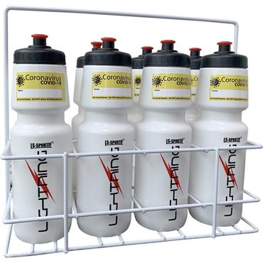 COVID-19 Water Bottles and Carrier set | 8 Piece