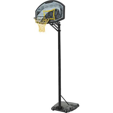 Portable Adjustable Basketball Unit with Backboard