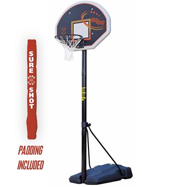 Sure Shot Heavy Duty Portable w/ Fan Shaped Backboard