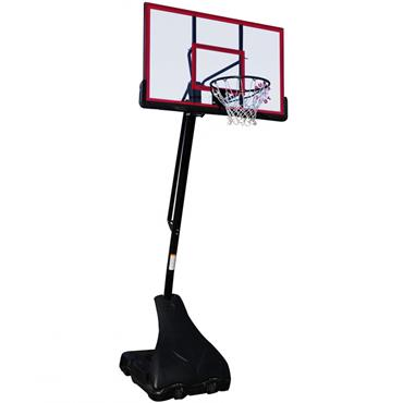 Sure Shot Pro Just Portable Unit with Acrylic Backboard and Pole Padding