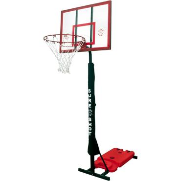 Sure Shot Easi-Shot 553 Acrylic Portable Basketball Hoop & Stand