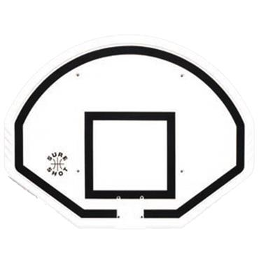 Sure Shot Fan-Shaped Euro Basketball Back Board
