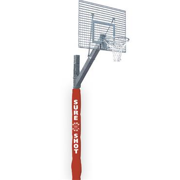 Sure Shot 663 Eurocourt Inground Unit with Mesh Backboard