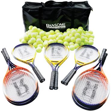 Ransome Secondary Tennis Racket & Ball Bag Set