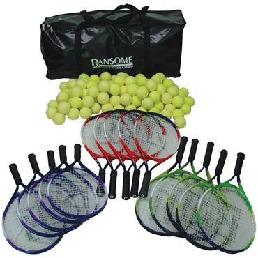 Ransome Primary Tennis Racket & Ball Bag Set