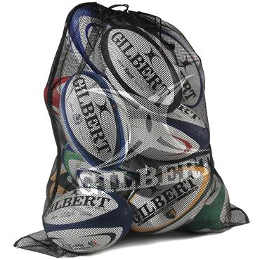 Gilbert Rugby Ball Bag Fine Mesh