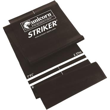 Unicorn Striker Black Darts Mat