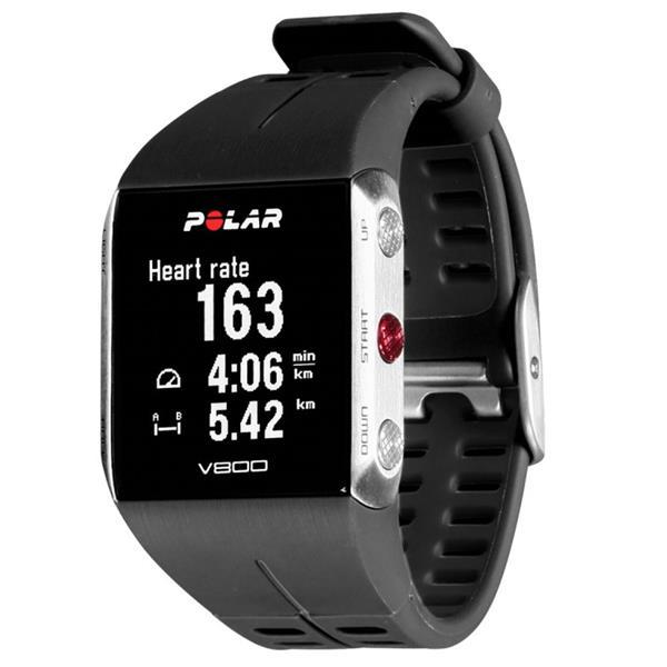Polar V800 GPS Sports Watch   (Grey & Black)