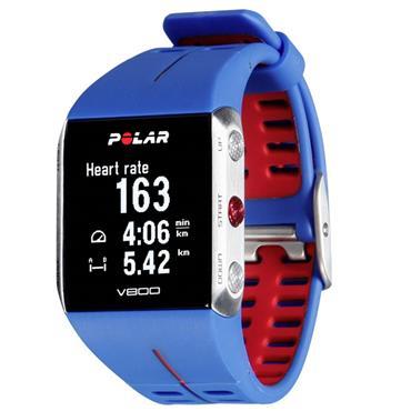 Polar V800 GPS Sports Watch | (Blue & Red)