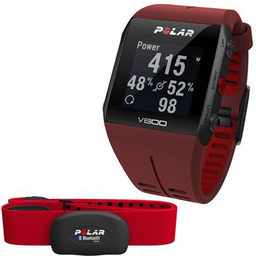 Polar V800 GPS Sports Watch | (Red)