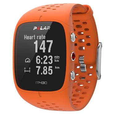 Polar M430 GPS Running Watch | Orange