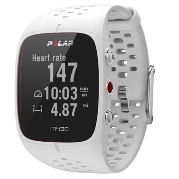 Polar M430 GPS Running Watch | White