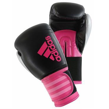 Adidas Hybrid Boxing Gloves Pink 10oz