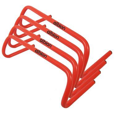 """Albion Plastic Training Hurdle 6""""    4 Pack"""