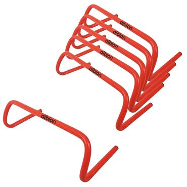 "Albion Plastic Hurdles 6""   6 Pack"