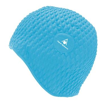 AquaSphere Adult Bubble Cap | Light Blue