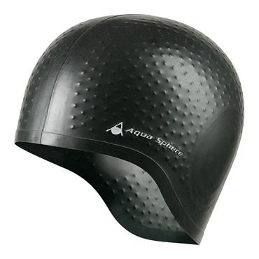 AquaSphere Aqua Glide Swim Cap | Black