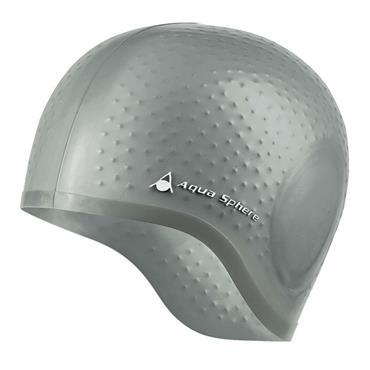 AquaSphere Aqua Glide Swim Cap | Silver