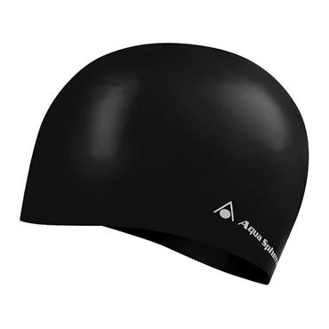 AquaSphere Volume Swim Cap | Black (Long Hair)