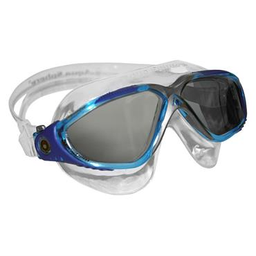 AquaSphere Vista Adult Goggle Dark Lens | Clear/Grey