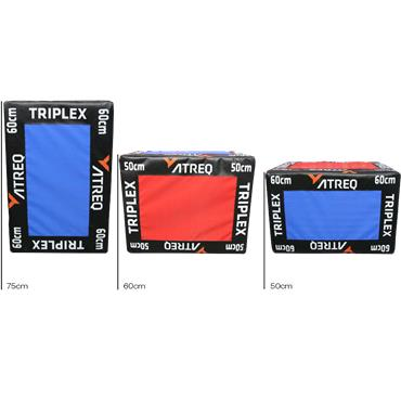 Atreq Triplex Soft Plyo Box (Set)