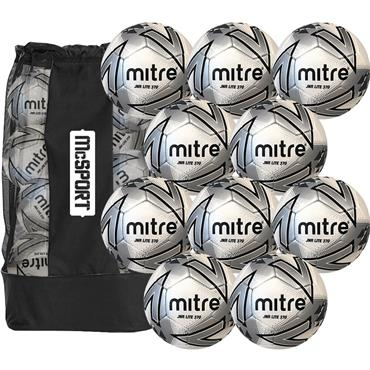 Junior Lite 370g Match Balls | 10 Pack