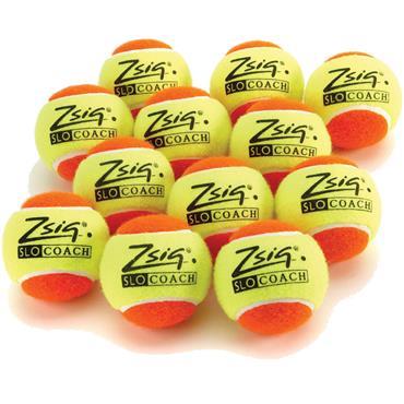 ZSIG Orange SloCoach Mini Tennis Balls (12 PK)