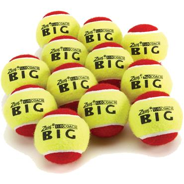 Zsig Big Red SLOcoach Mini Tennis Balls (12 PK)