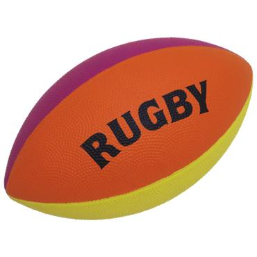 FIRST-PLAY® MINI RAINBOW RUGBY BALL