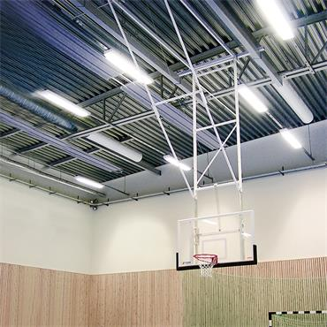 Sport Alpha Roof Mounted Basketball Goal