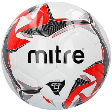 Mitre Tempest Futsal White/Red/Black | Size 4